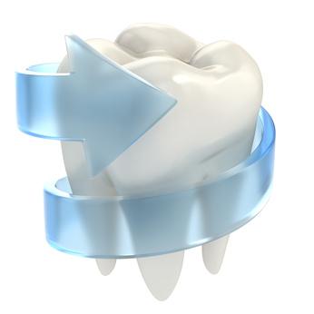 une couronne dentaire