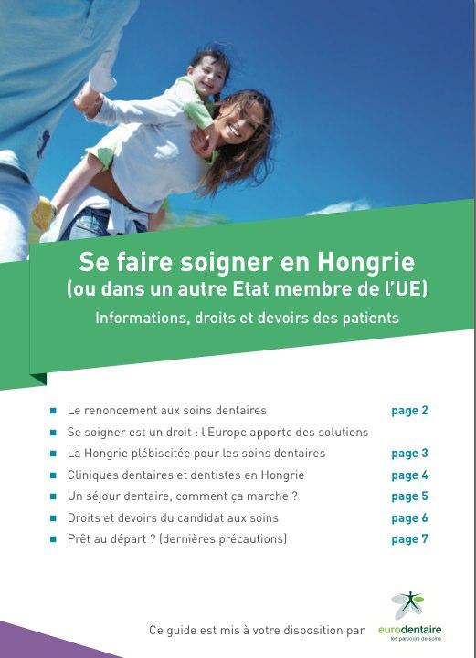 Guide soins etranger 2015-Eurodentaire