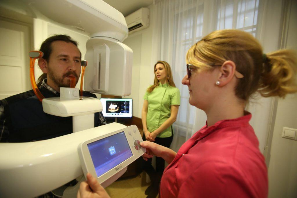 scanner dentaire clinique hongrie