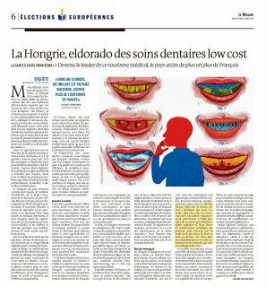 Hongrie Eldorado tourisme dentaire