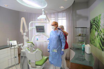 équipements dentiste en clinique